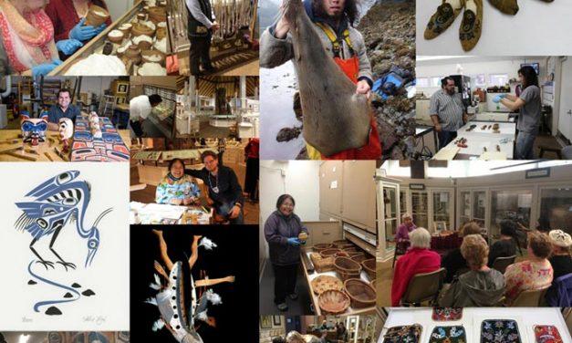 Apply to the Alaska Native Artist Residency Program by Jan. 2nd.